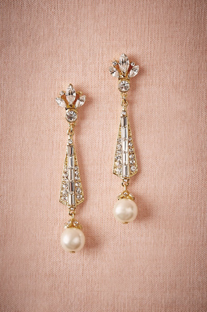 Ben-Amun Gold Spire Earrings | BHLDN