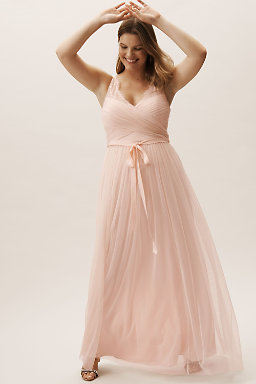 Fleur Dress Blush
