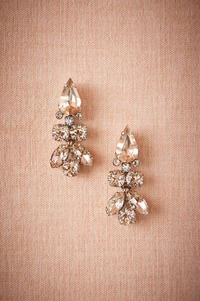 Sorrelli Silver Palazzo Drop Earrings | BHLDN