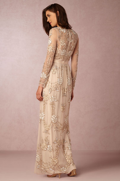 Needle & Thread Dust Rose Adona Dress | BHLDN