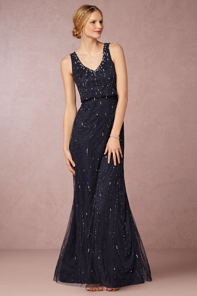 Adrianna Papell Midnight Brooklyn Dress | BHLDN