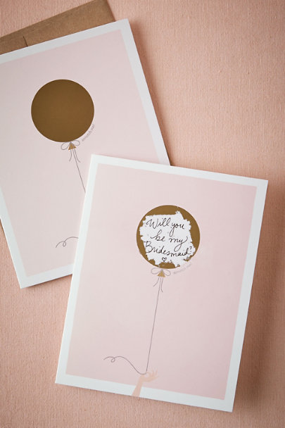 "Pink ""Will You Be My"" Scratch-Off 