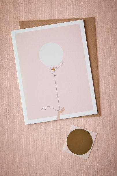 Pink ''Will You Be My'' Scratch-Off | BHLDN