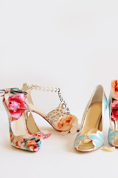 Multi Floriography Pumps | BHLDN