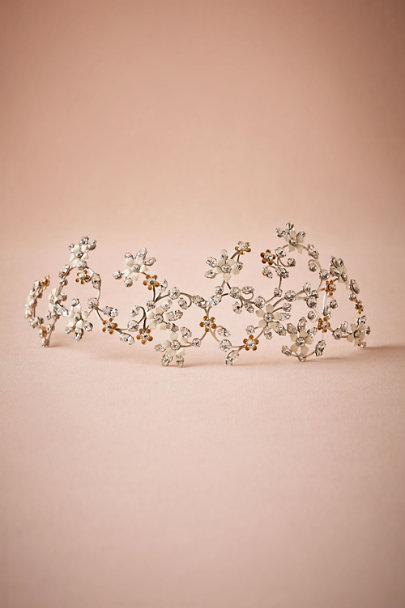 Debra Moreland Neutral Motif Gallica Ornament | BHLDN