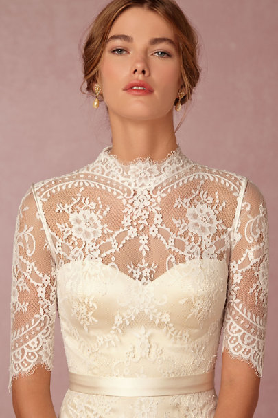 Catherine Deane Oyster/Bridal Cream Bridgette Gown | BHLDN
