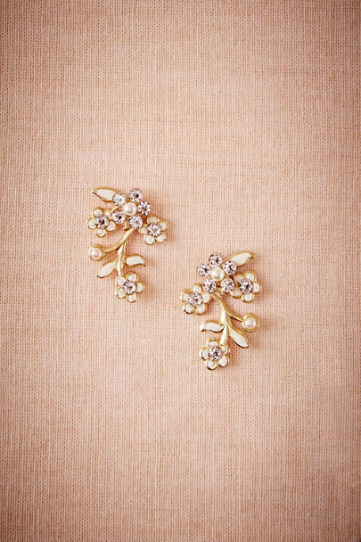 Debra Moreland Gold Guliana Post Earrings | BHLDN