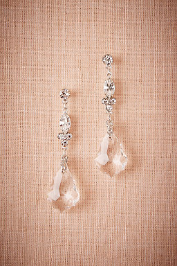 Crystal Ship Chandelier Earrings