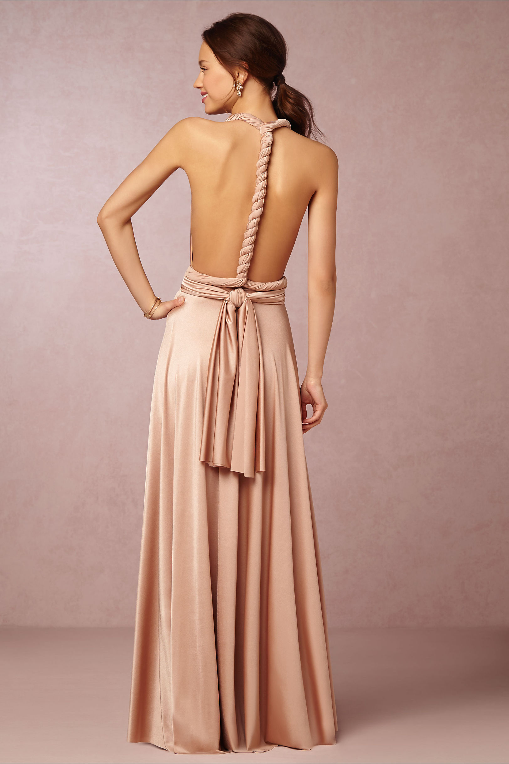 Ginger Convertible Maxi Dress in Bridal Party Bridesmaid Dresses ...