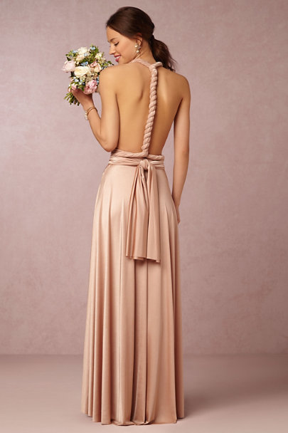 twobirds Rosewater Ginger Convertible Maxi Dress | BHLDN