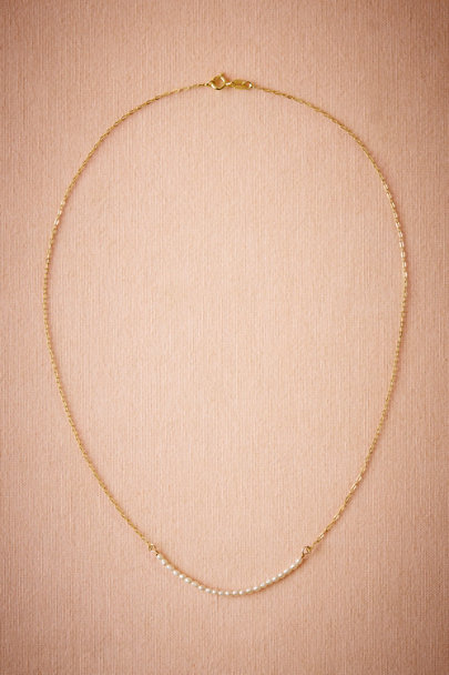 Charlene K Pearl Tres Delicat Necklace  | BHLDN