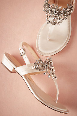 Crystal Pool Sandals