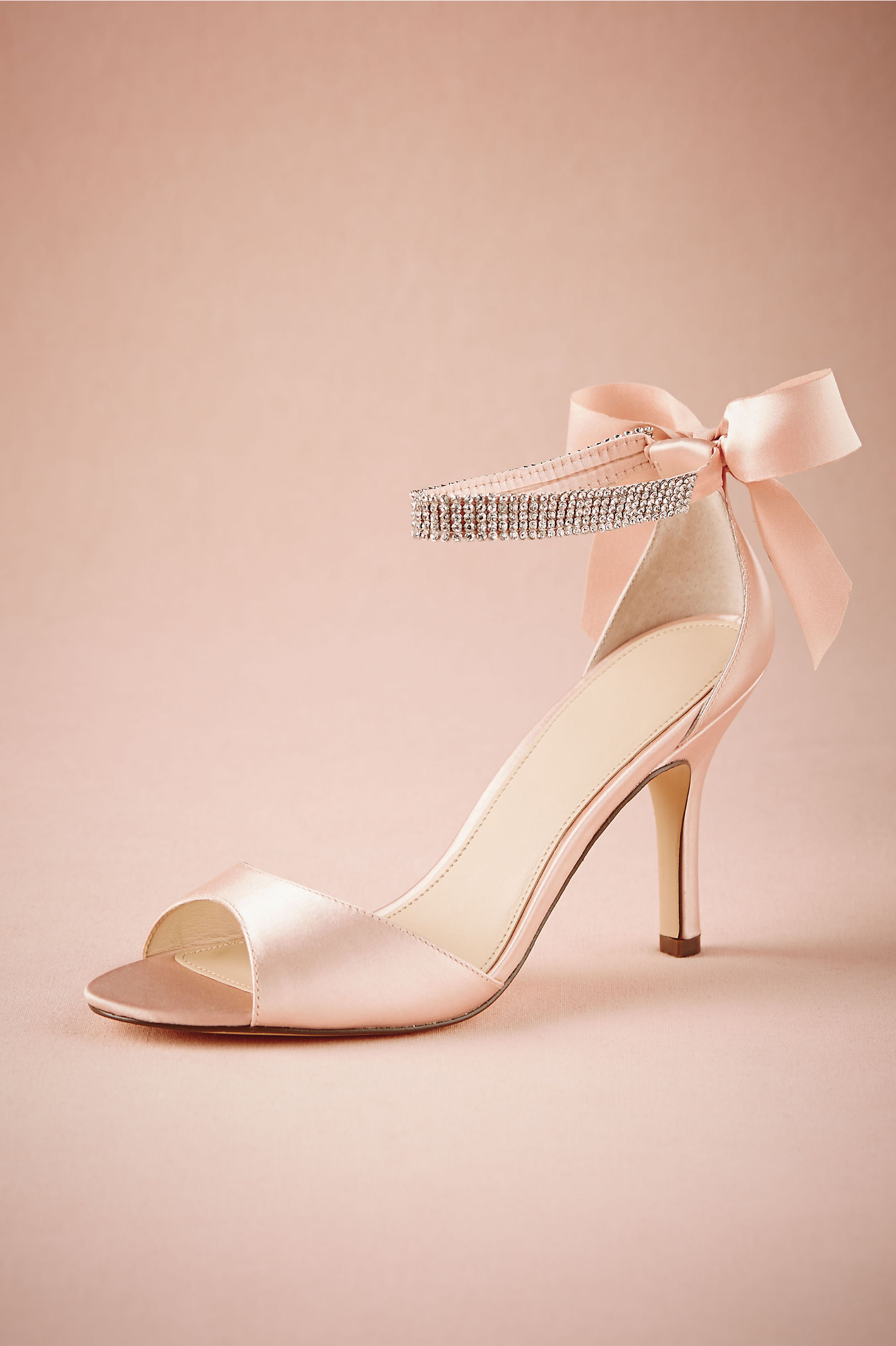 Bow Heels Pink