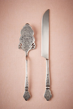 Intaglio Serving Set