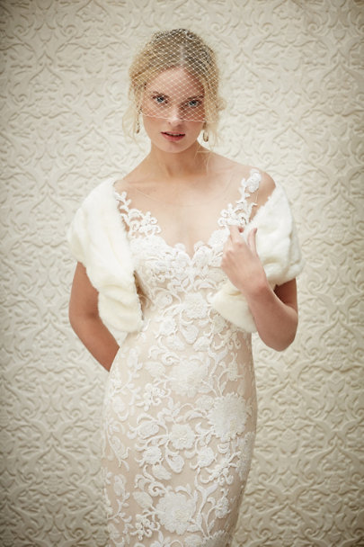 Watters Ivory Renata Sheath | BHLDN