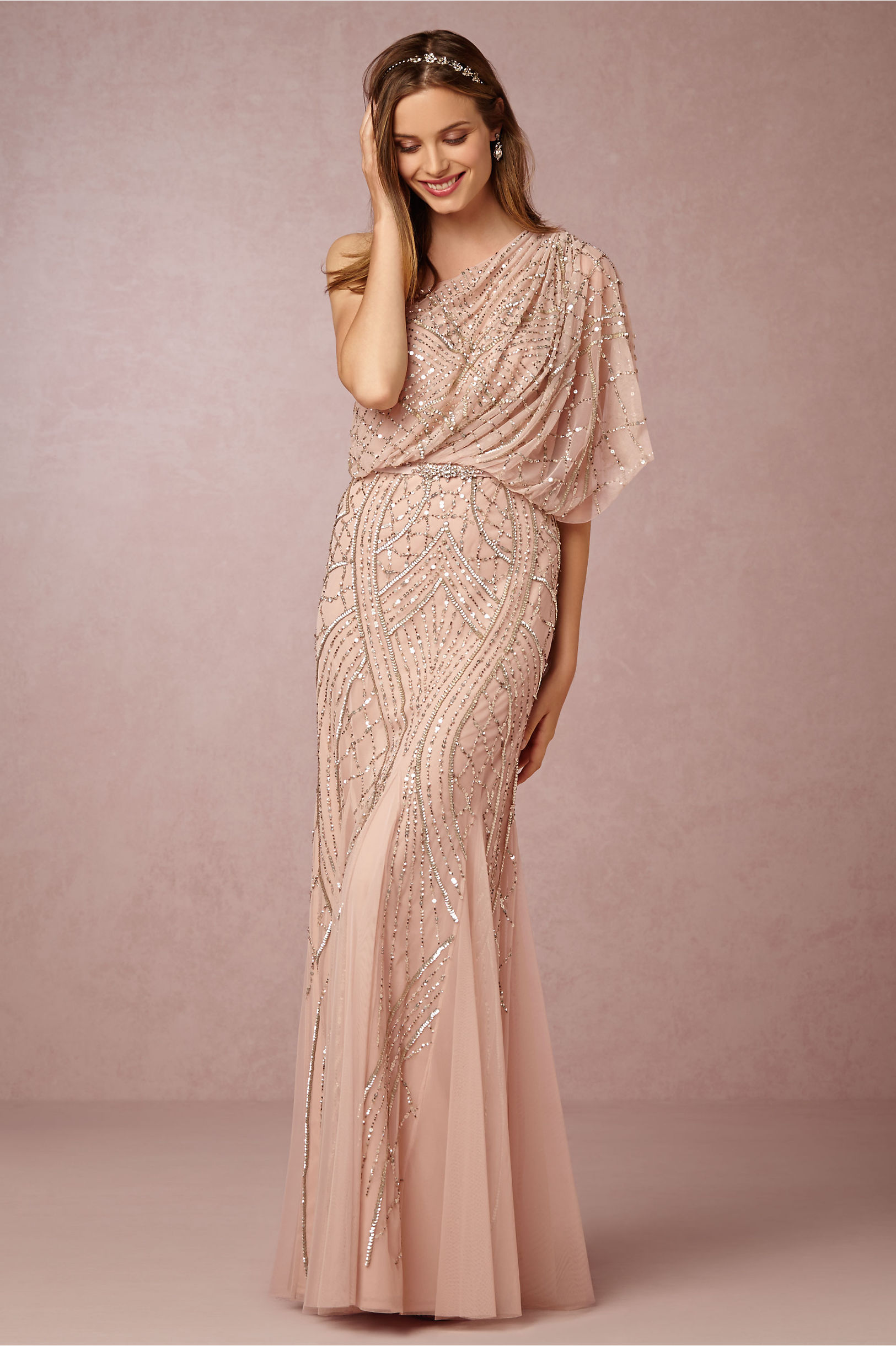Adrianna Papell One Shoulder Gown – fashion dresses