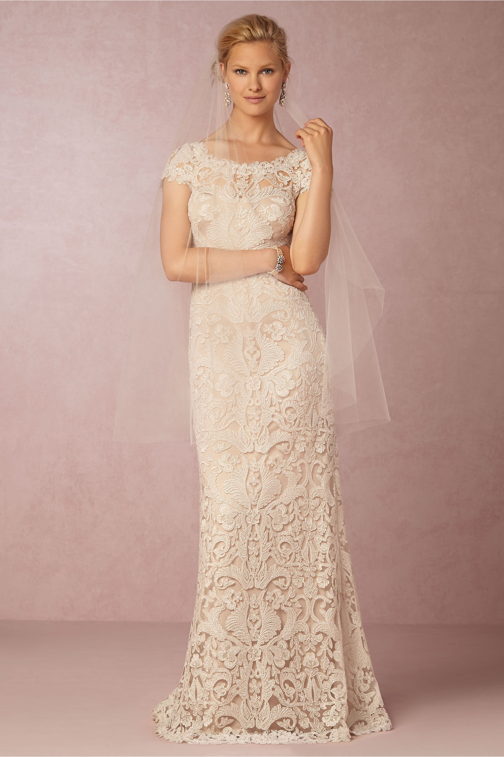 bride wedding dresses sleeves wedding dresses with sleeves August Gown August Gown