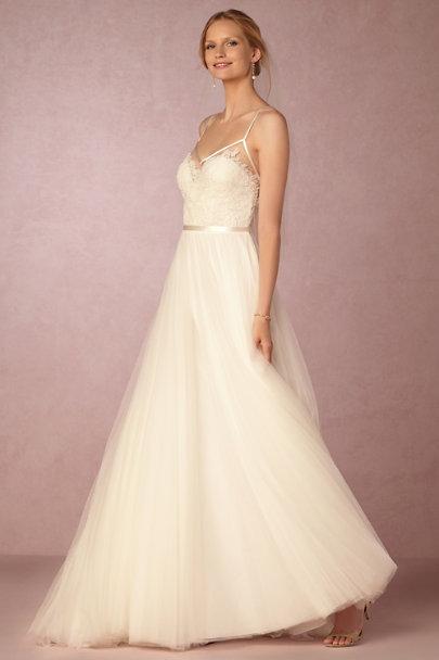 Charlotte gown in sale wedding dresses bhldn for Bhldn wedding dress sale
