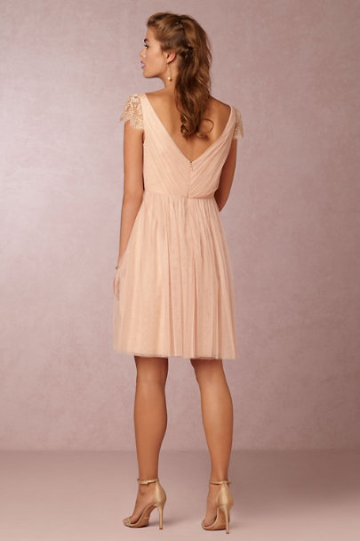 Jenny Yoo Cameo Pink Ruby Dress | BHLDN