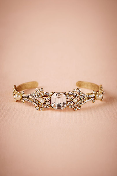 Miss Ellie Gold Inez Cuff | BHLDN