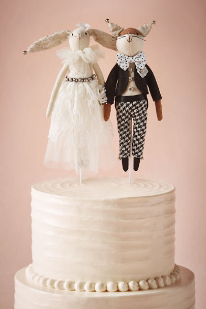 woodland creatures cake topper in sale bhldn