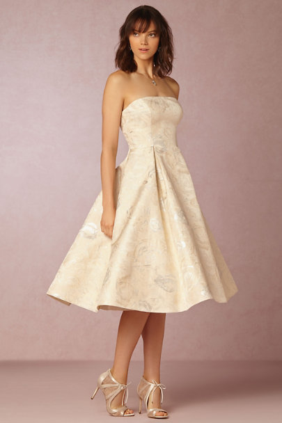 Adrianna Papell Ivory Clea Dress | BHLDN