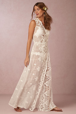 London Embroidered Gown