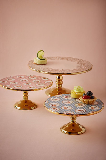 Rose Quartz English Tea Cake Stand | BHLDN