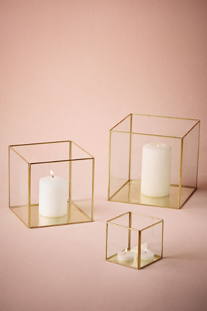 Gold framed boxes in décor gifts bhldn