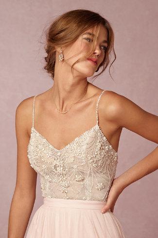 Ella bodysuit amora skirt in bride bhldn for Full body wedding dress