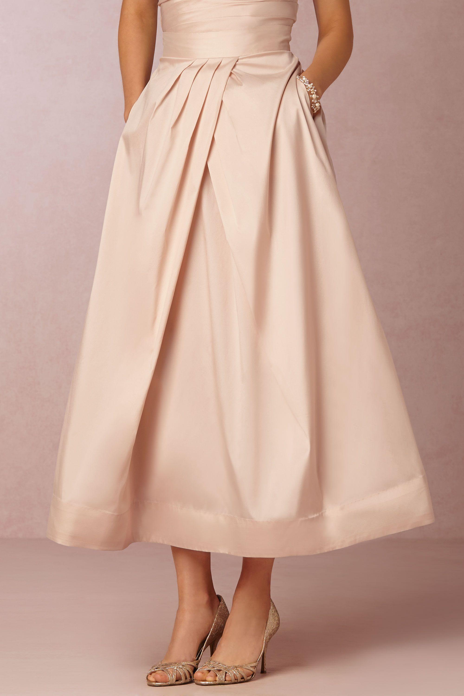 Salene Taffeta Skirt