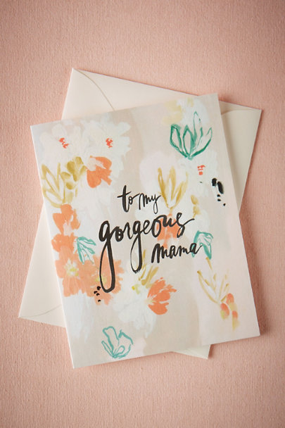 Multi Gorgeous Mama Card | BHLDN