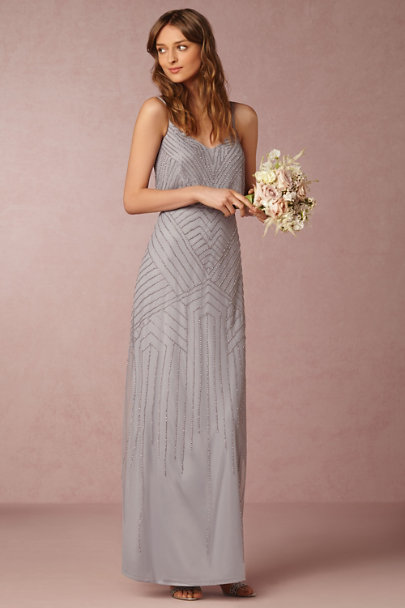 Adrianna Papell Serenity Blue Sophia Dress | BHLDN