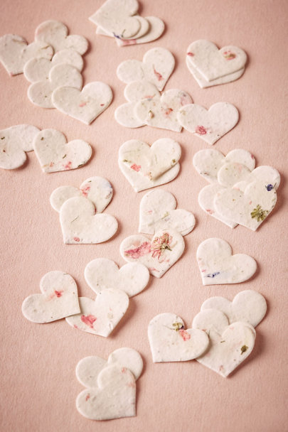 Blush Blossom Hearts | BHLDN