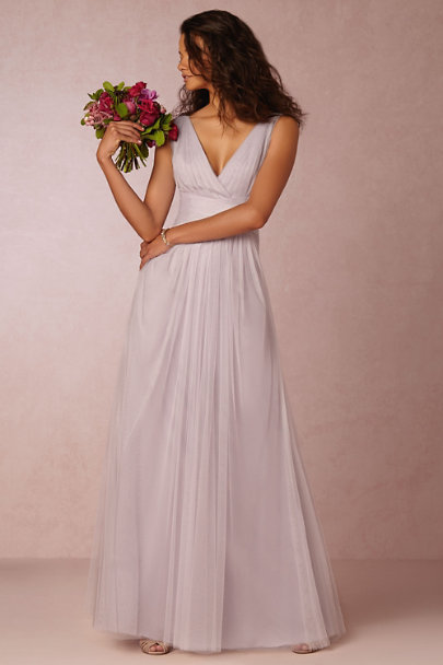 Monique Lhuillier Bridesmaids Lavender Colombe Dress | BHLDN