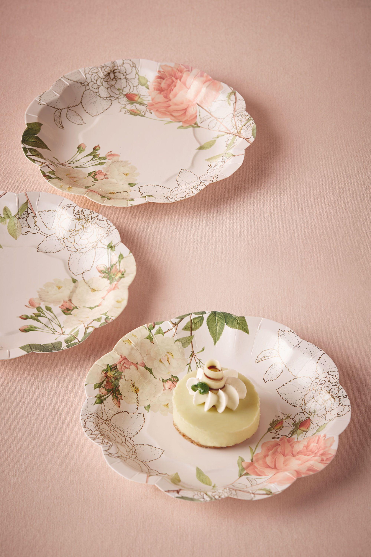 Corsage Paper Plates (12)