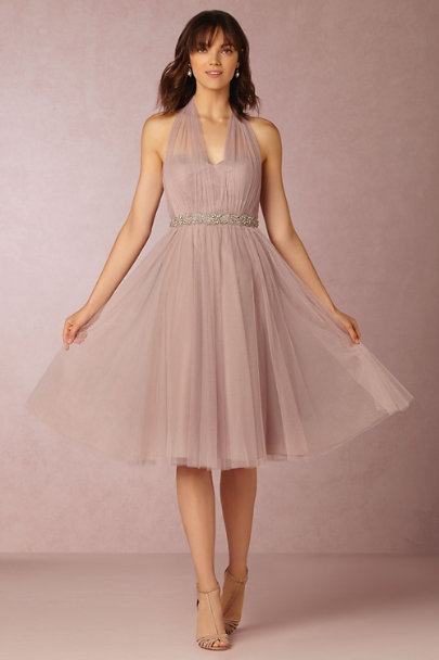 Jenny Yoo Rose Quartz Maia Dress | BHLDN