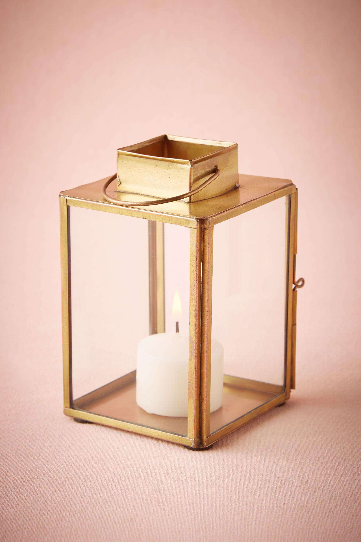 Brass-Paned Lantern
