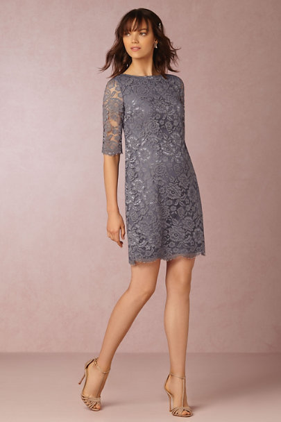 Hitherto Pewter Gia Dress | BHLDN