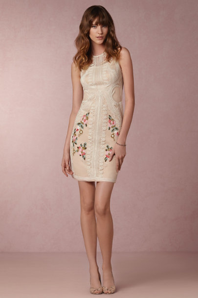 Geisha Designs Ivory Rosemarie Sheath | BHLDN