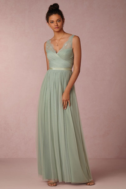 Hitherto Sea Glass Fleur Dress | BHLDN