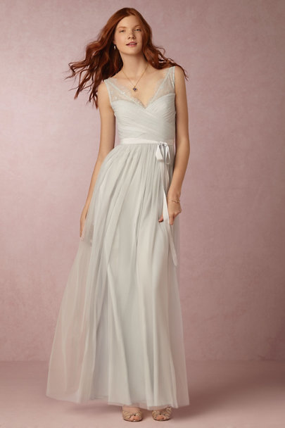Hitherto Powder Blue Fleur Dress | BHLDN