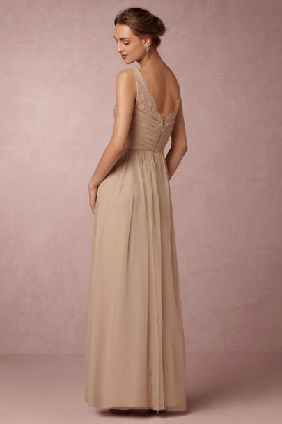 Hitherto Sandstone Fleur Dress | BHLDN