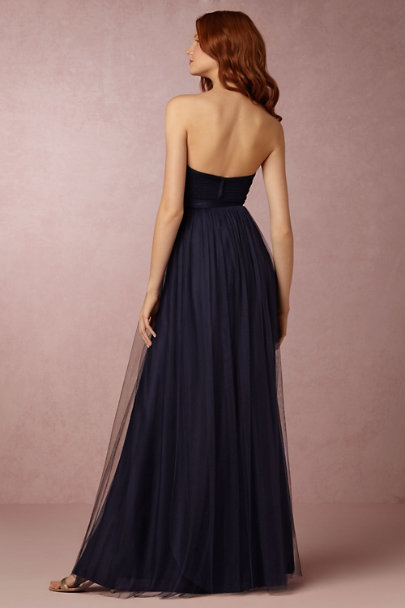 Jenny Yoo Navy Annabelle Dress | BHLDN