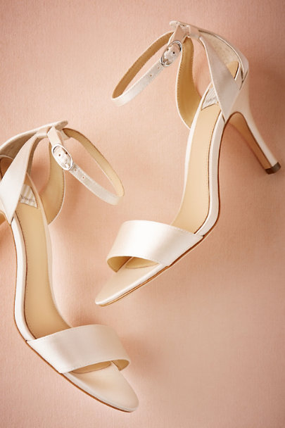Hitherto Ivory Toulouse Heels | BHLDN