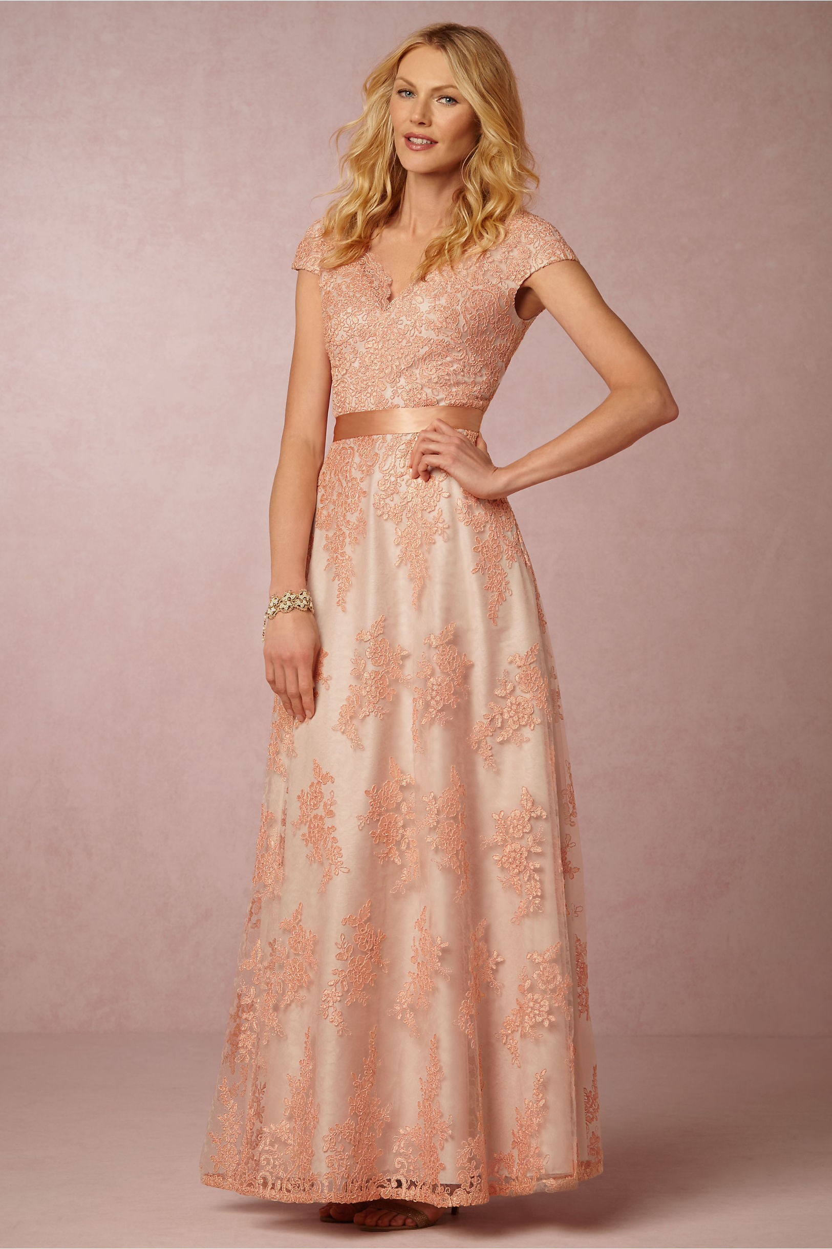 Cute Aidan Mattox Lace Gown Ideas - Wedding and flowers ispiration ...