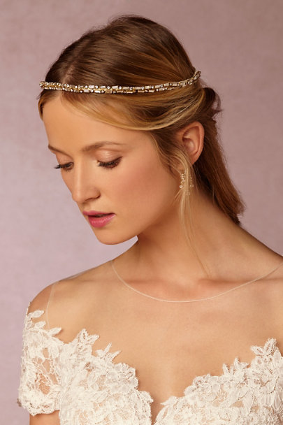 Gold Gilt Wire Wreath | BHLDN