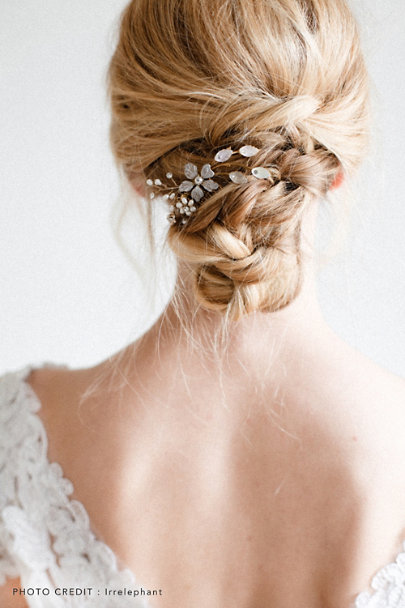Twigs & Honey Gold Winter Garden Combs | BHLDN