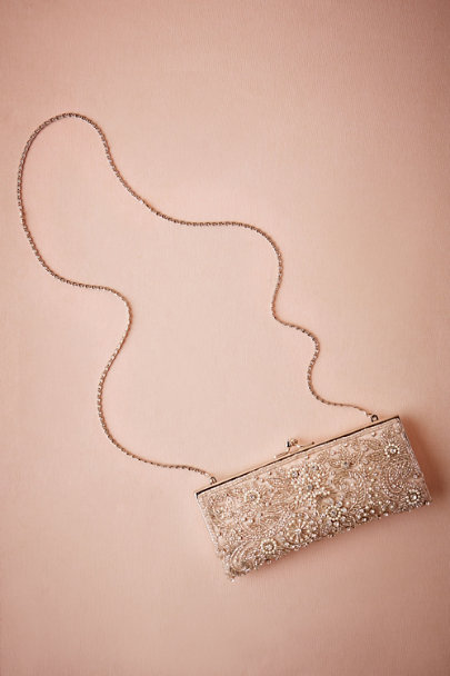 Moyna Blush Tearoom Clutch | BHLDN