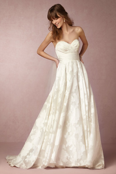 Watters Ivory Judith Gown | BHLDN